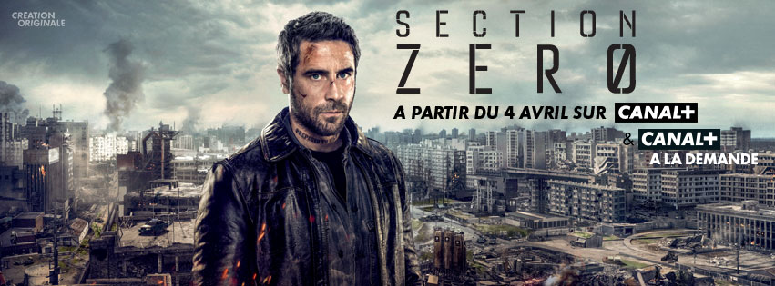 Section Zero affiche canal+